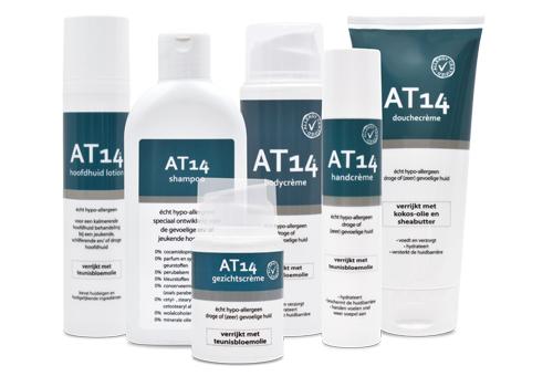 AT14 hypo-allergene huidproducten